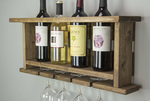 Wooden Wine Rack - Slotted | Racks | J Thomas Home