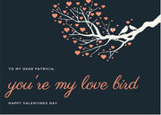 Printable Valentine's Day Card - Love Bird | External | J Thomas Home