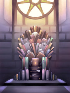 """The Paper Throne"" Digital Download Print"