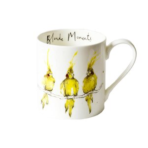 Blonde Moments Mug by Anna Wright