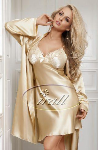 Irall Parisa Nightdress in Beige