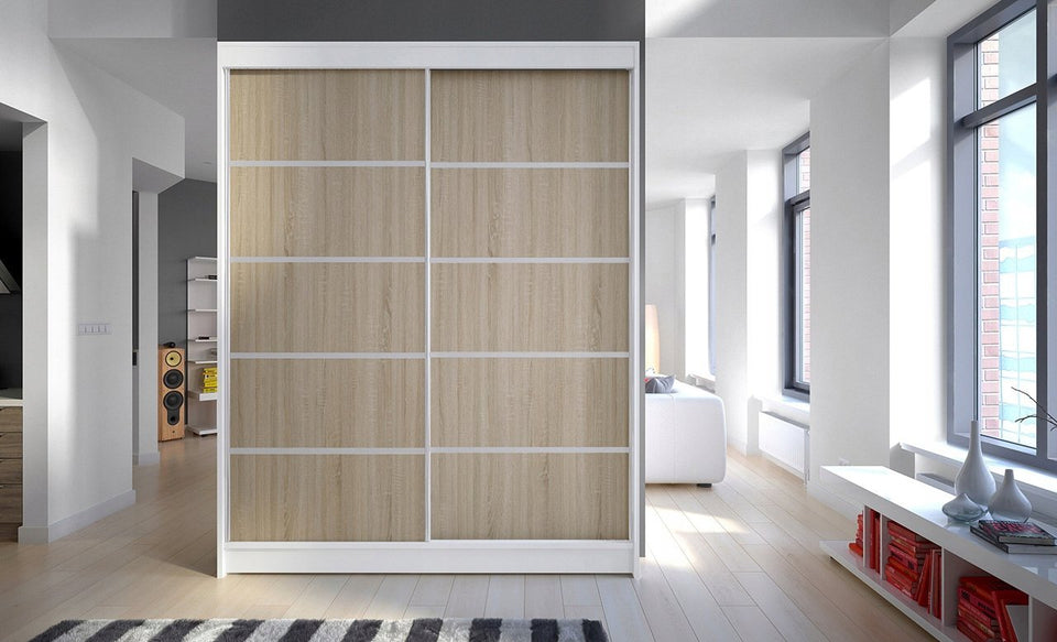 Wardrobe With Sliding Doors ONIMAC-IV (150 CM) 359.00 Klik ponudba