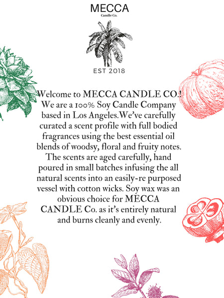 about mecca candle co