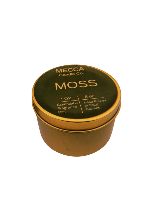 MOSS 8oz Gold Tin