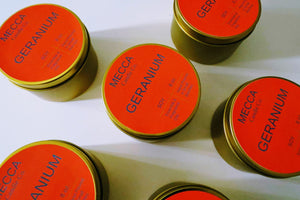 Geranium Soy Candle