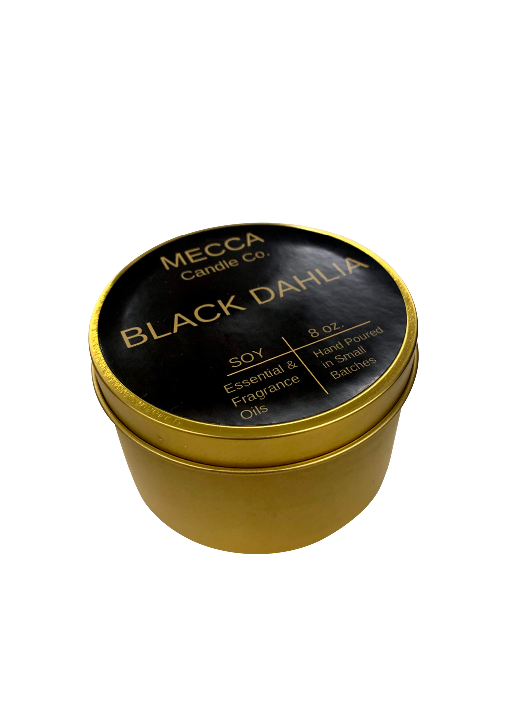 Black Dahlia Soy Candle 8oz