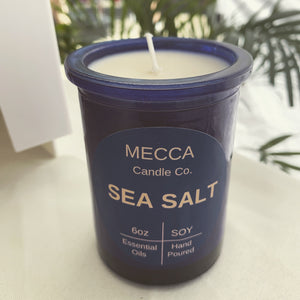 Sea Salt Soy Candle - 6oz