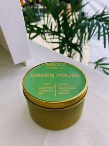 green house candle