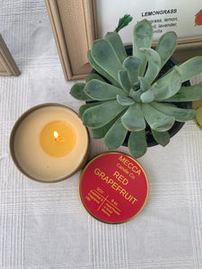Red Grapefruit 8oz-  (RED) candle