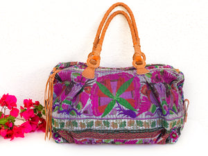 Spirit Flower River Satchel