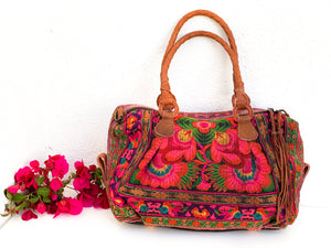 Spirit Flower Bright Satchel