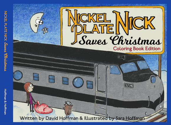 Nickel Plate Nick Coloring Book and Short Story