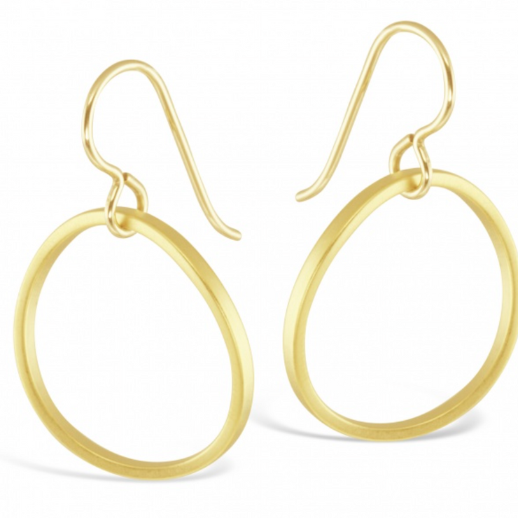 Contemporary Minimalist Hoop Earrings
