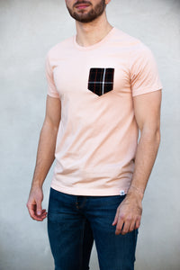 Crimson Scout Pocket Tee (Salmon)