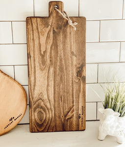 Rustic Decorative Bread Board (Long)