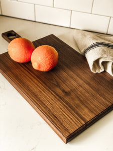 Walnut Cutting Board Made by January