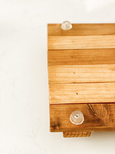 January Market Recycled Wood Tray