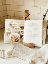 Rustic Wooden Cookbook/Tablet Holder