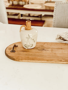Rustic January Market Tray