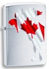 Zippo 67674 Moose Wcanada Flag 200 - One wholesale Canada