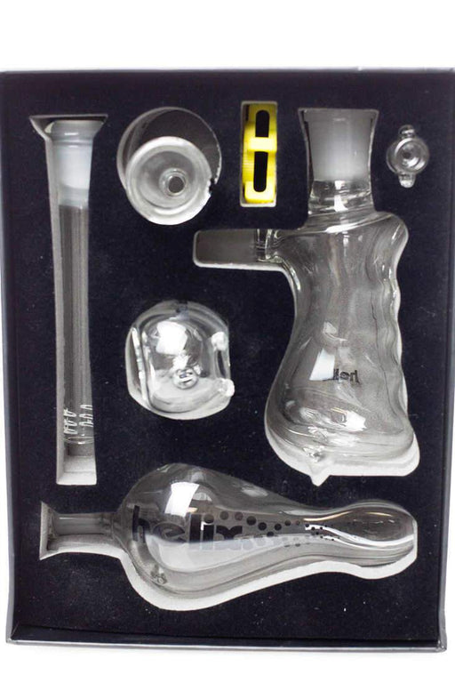 HELIX 3-in-1 glass pipe set - Bong outlet Canada
