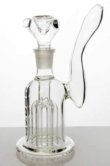 "7"" 6-arm diffuser glass water bong - One wholesale Canada"
