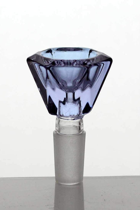 Crystal shape Glass bowl - Bong outlet Canada
