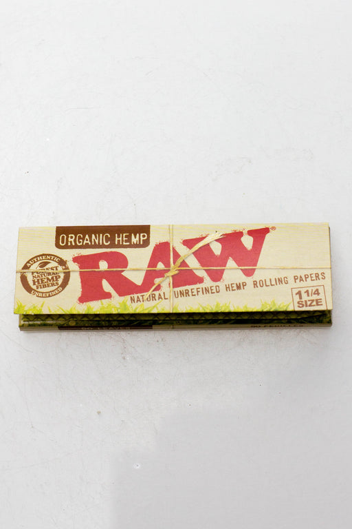 Raw organic hemp rolling paper - Bong outlet Canada