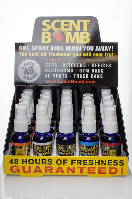 Scent Bomb air fresheners - One wholesale Canada