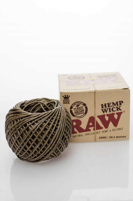 Raw Hemp Wick - Bong outlet Canada