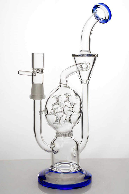 10 inches 2-in-1 swiss and honeycomb diffused recycler - Bong outlet Canada