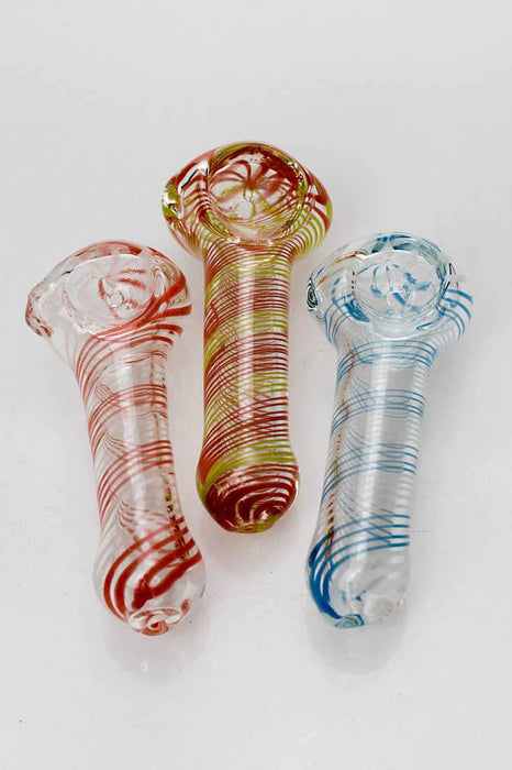 Soft glass 2784 hand pipe - One wholesale Canada