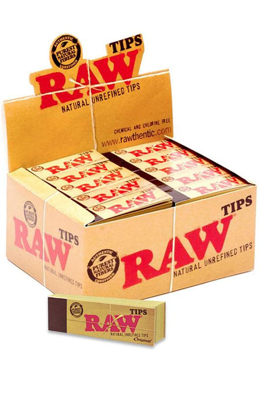 Raw Rolling Paper Tips - One Wholesale