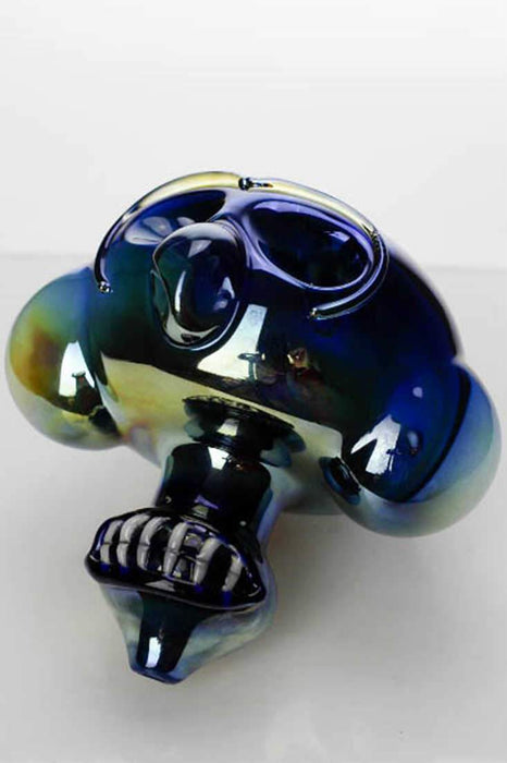 Metallic color Monkey glass pipe - One Wholesale