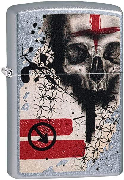 Zippo 29856 Trash Polka Tattoo Skull - One wholesale Canada