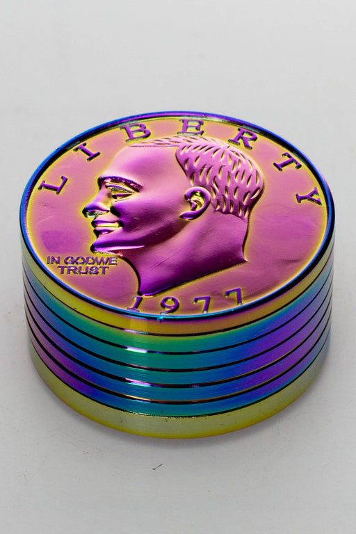 US One dollar coin shape metal grinder - One wholesale Canada
