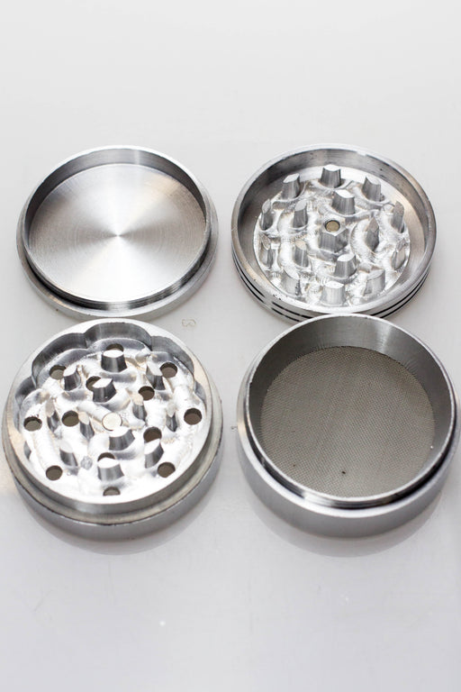 Aluminium precision cutting 4 parts Herb grinder - One wholesale Canada