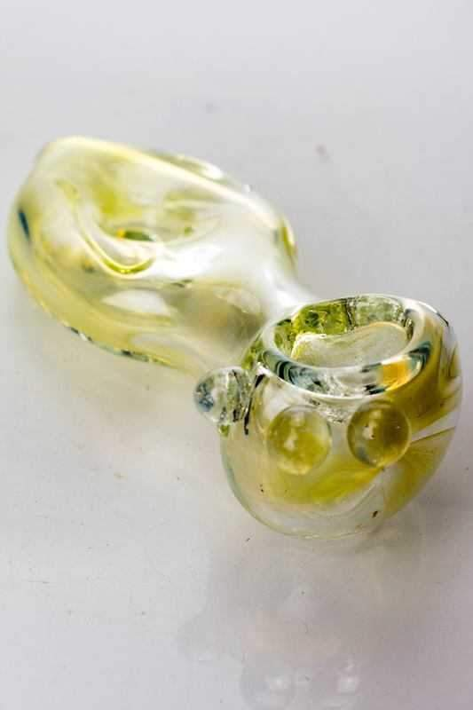 "3.5"" soft glass 3485 hand pipe - Bong outlet Canada"