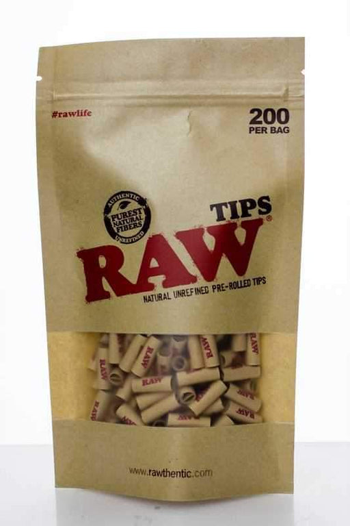Raw Rolling paper pre-rolled filter tips 200 - One wholesale Canada