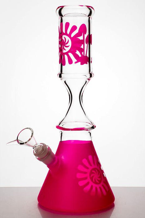 "12"" color coated glass water bongs - One wholesale Canada"
