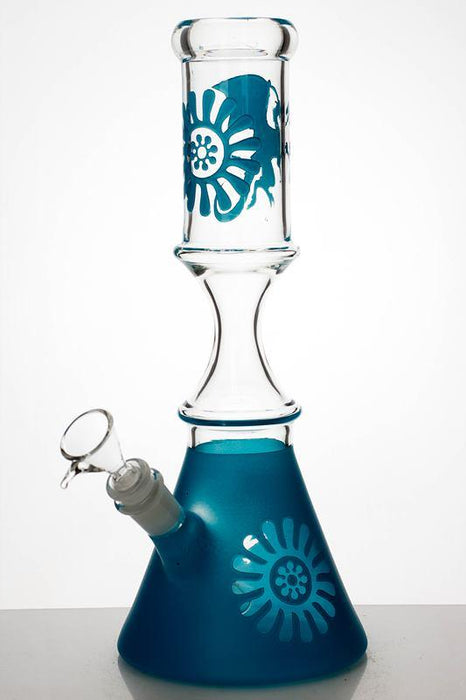 "12"" color coated glass water bongs - Bong outlet Canada"