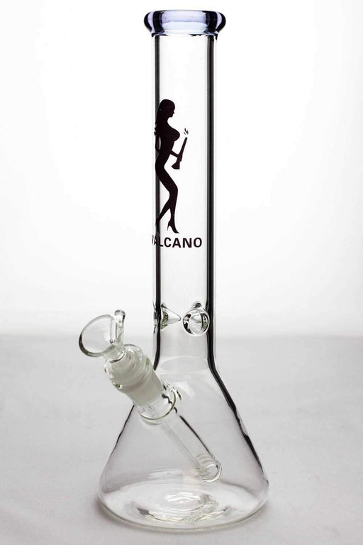 "11.5"" Valcano beaker glass water bong - One wholesale Canada"