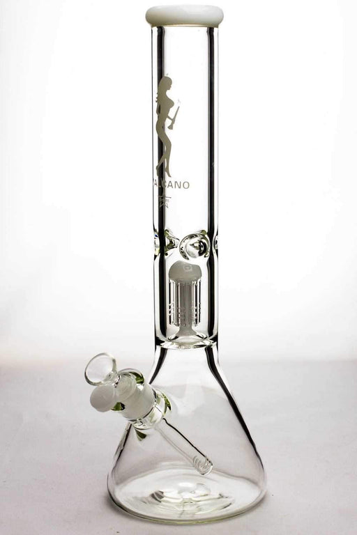 "16"" valcano 6 arms percolator 9 mm thick glass water bong - Bong outlet Canada"