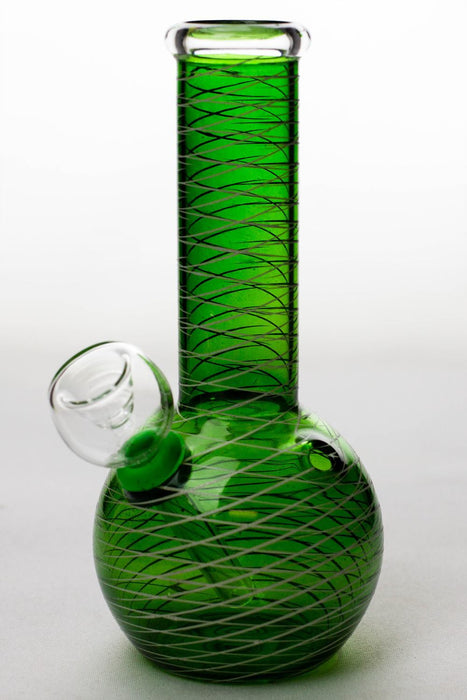 6 inches glass water bong - One wholesale Canada