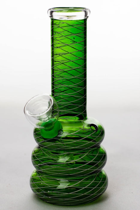 6 inches glass water bong - Bong outlet Canada