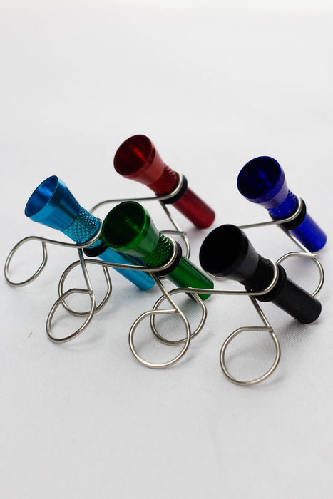 Metal bowl slide with clip - One wholesale Canada