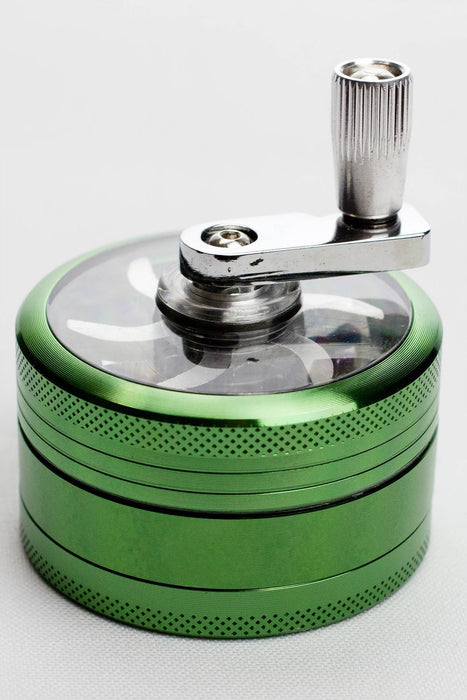 3 parts infyniti aluminium herb grinder with handle - One wholesale Canada