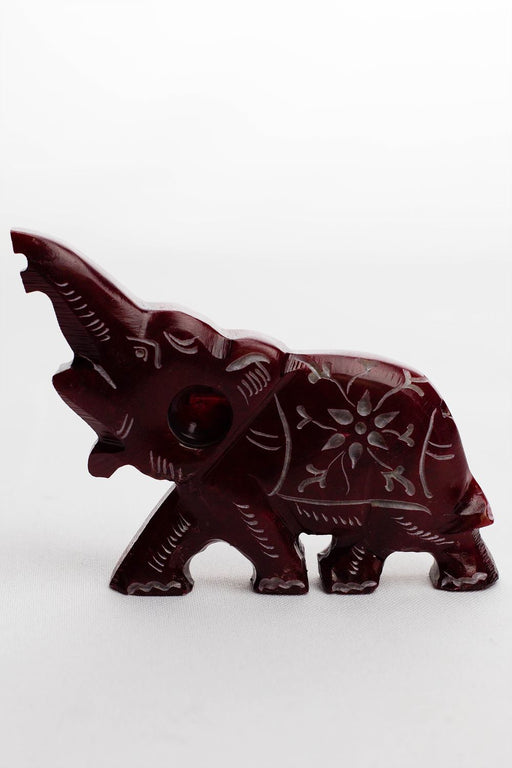 Elephant shape stone pipe - Bong outlet Canada