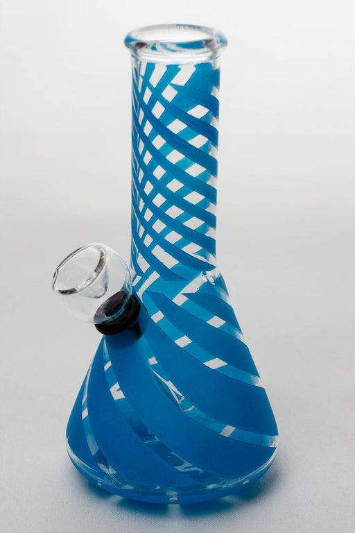 "6"" conical base glass water bong - Bong outlet Canada"