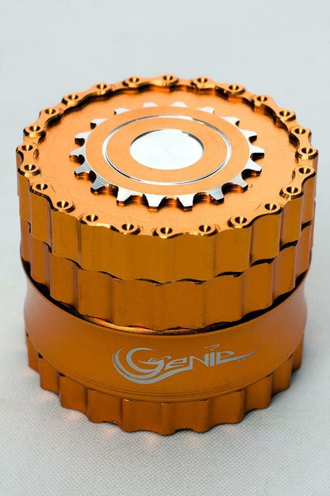 Genie chain and sprocket aluminium grinder - Bong outlet Canada